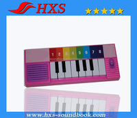 Baby Musical Book Educational Keyboard Piano Toy