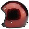 YELLOW SHINNING MOTORCYCLE HELMET novelty motorcycle helmets open face gloss GLITTERING