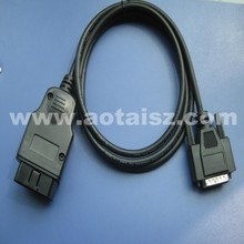obd2 cable connector usb to DB9 test cable for car tool