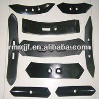 Farm implements spare parts 60Si2Mn plow tip