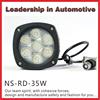 Led Driving Light 4x4 round Led Truck 12V Automotive Led Light