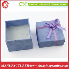 Brand new colorful paper jewellery gift boxes for rings/necklaces/earrings