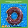 "Inflatable Chocolate DONUT Pool Float Swimming Tube~ WHAM-O 36"" & FREE SHIPPING Fun Bite"