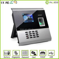 Free Software Beautiful Design TFT Color Display IP based finger scan bio time clock