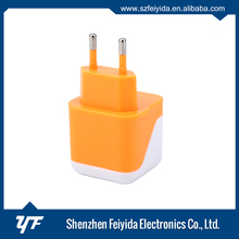 With stable safe operation 12- 24V dual usb wall charger for Sumsang