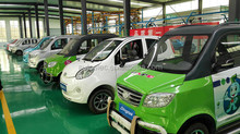 2015 High quality electric smart car cheap price four seats classic cars or vehicle with lithium battery