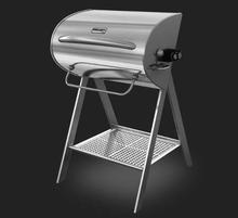 Stainless Steel Portable BBQ Barbecue and Rotating Electric Grills for Backyard Camping Outdoor Kitchen Cooking Equipment