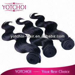 hot sale brazilian human hair sew in weave deep wave natural color