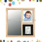 Hotsale moldura de espelho com marca da mão brinquedos do bebê