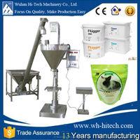 Semi automatic dry food powder washing powder packaging machine