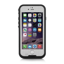 White Merit iphone6 waterproof case,Shockproof case for iphone6 ,Snowproof Dirtpoof Case