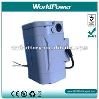Lithium ion 24v electric bicycle battery 9AH