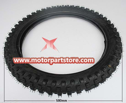 70 / 100 - 17 front Tire for 50cc - 250cc Dirt Bike Motorcycle TE037
