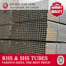JIS STANDARD LOW CARBON STEEL RHS 40x40 MM SQUARE PIPE CHINA TRADE COMPANY