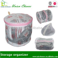 multifunctional foldable washing mesh laundry bag for bra and underwear