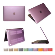 Ultra-thin PC hard case cover for Macbook 12.1'' purple color factory outlet OEM case