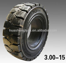 loaders tire good quality competitive price solid truck tyre 3.00-15