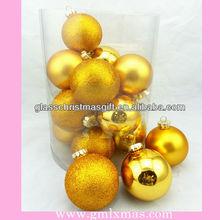 GML Factory flat shatterproof Christmas ornament Ball Supplies,Trade Assurance supplier