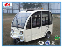 chinese popular new style800w closed electric passenger three wheel trike car for sale