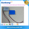 Wholesales 11.1v rechargeable lithium polymer battery pack 11.1v 600mah lipo battery with PCM protection covered blue PVC