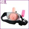 Strap On Vibrating Dildo Masturbator Pussy Sex Toys