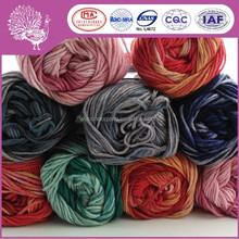 OEM Natural wool/bamboo fiber yarn for kintting