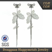 2015 Hot Selling The Most Popular Oem Service Earrings Long