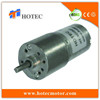 Long life low noise 4mm shaft battery operated low speed gear motor dc 5v