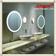 Hotel framed mirrors, lighting mirror with frame BGL-002,16 years supply for hotels
