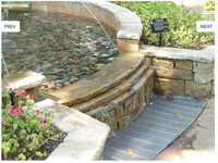 Customized Fountain Cover Grating Metal Floor Drain Grate