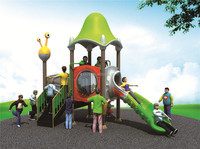 Attractive large kids inflatable cat castle with slide bounce-outdoor playground equipment