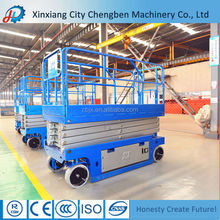Electric Powered Lift Platform / Scissors Hydraulic Platform Truck Lift Table