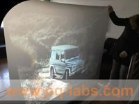 flame retardent optical projection film magic image