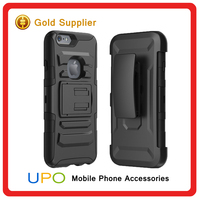 Armor Kickstand Hybrid Holster Combo Case Mobile Back Covers for iphone 6s