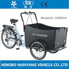 26 inch three wheeler wood cargo bike / bikes