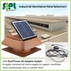 2015 Industrial Roof Mounted Solar Warehouse Air Ventilating Exhaust Fan with Power Adapter