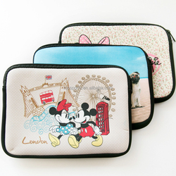 Personalized high quality neoprene laptop sleeve, soft and shockproof,offer sample