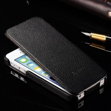 Genuine leather popular phone case for Iphone 5, flip western cell phone case for Iphone 5S, wholesale phone case for Iphone 5S