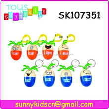 colorful mini egg shape cute pen for children