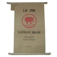 kraft paper laminated pp woven bag ,kraft paper sack bags with PP woven laminated for packing flour, powder chemical, sugar
