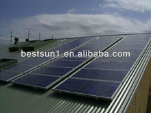 10KW A complete of high quality system and top sales grid tied solar power system
