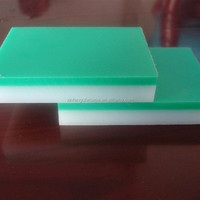 low coefficient friction /self-lubricating UHMWPE sheet/plate/panel/board ultra high molecular weight polyethene