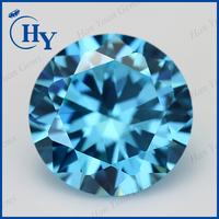 china loose synthetic cz stone aquamarine prices