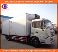 Carrier refrigerator unit freezer truck dongfeng Thermo kIng cooling van truck 10ton reefer truck