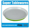 High quality printing round melamine tray cake tray