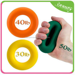colorful girp strength ring , silicone cup ,H0T005 promotional portable exercise equipment