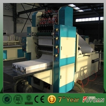 high performance 4 lines facial tissue paper folding machine, face tissue paper folding machine