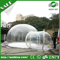 Hot selling! custom inflatable tent camping for sale, inflatable globe tent,inflatable tent