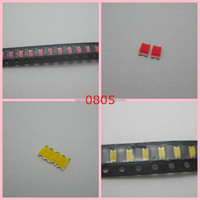 low price best sell 0805 smd led white yellow red blue green