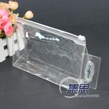 promotional clear pvc bag, pvc plastic bag, pvc packaging bag